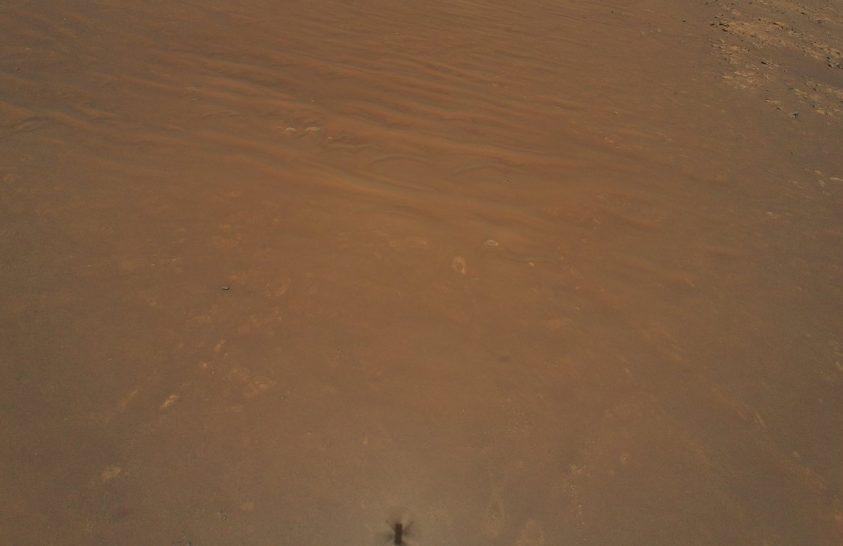 Ön látja a NASA marsjáróját ezen a fotón?