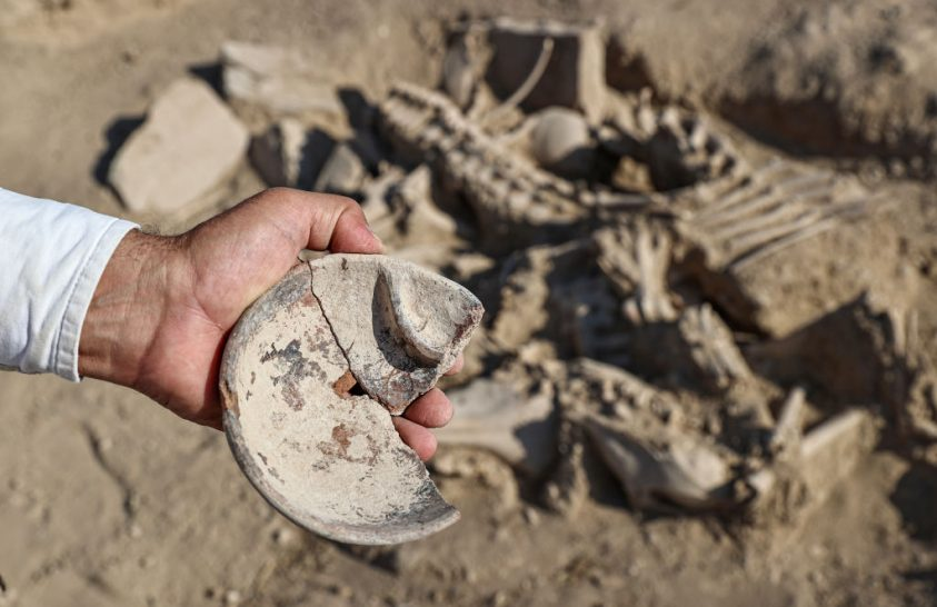 Ókori előkelőség sírjára bukkantak