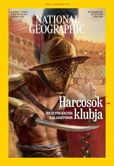National Geographic Magazin - 2021. augusztus