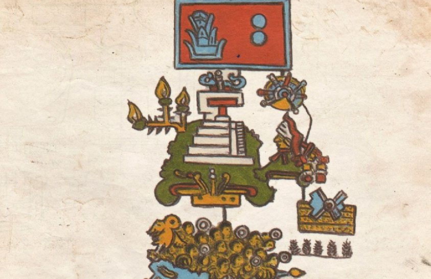 Hatalmas földrengésekről árulkodik egy azték kézirat