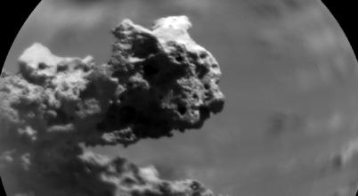 Különleges marsi kőzetet fotózott a Curiosity