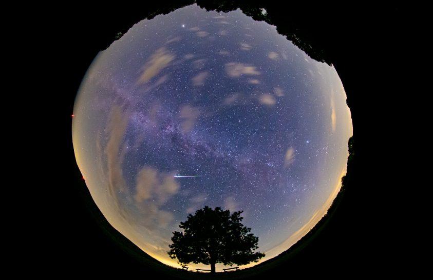 A meteorraj legszebb tűzgömbje
