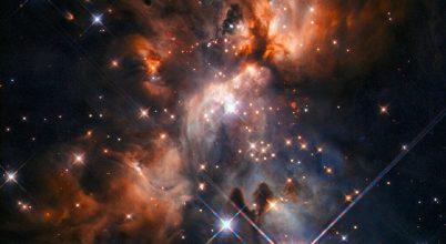 Kozmikus bölcsődét fotózott a Hubble