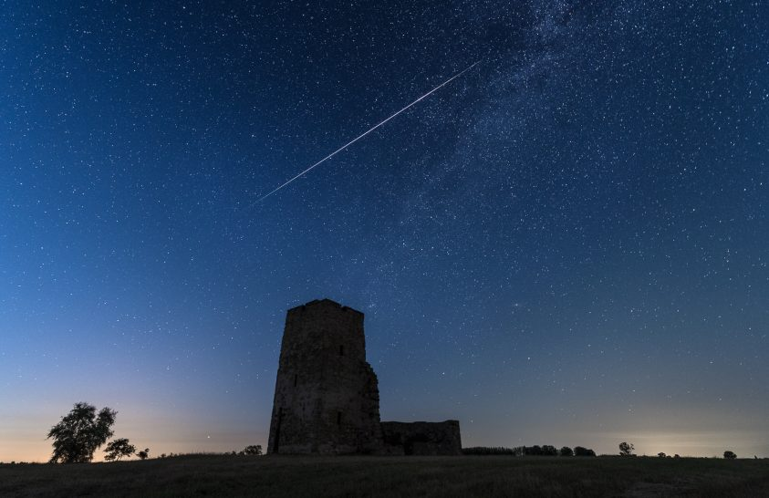 2021. augusztus asztrofotója: Meteor, ami hosszan hasította végig az eget