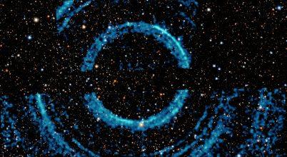Hatalmas gyűrűket figyeltek meg egy fekete lyuk körül