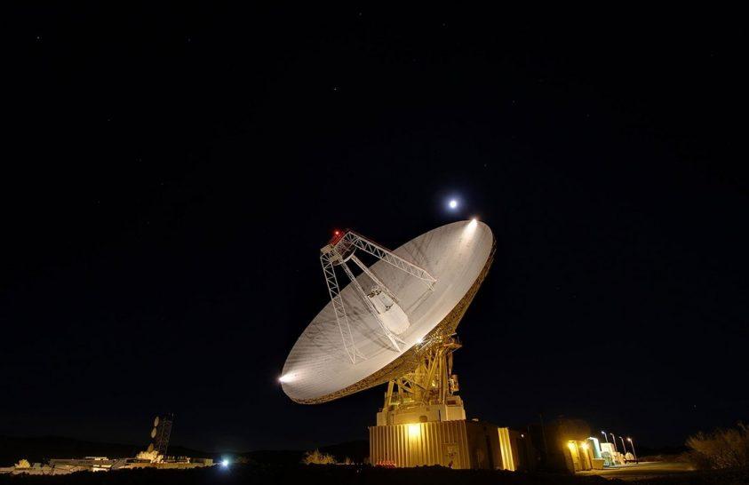 Ünnepel a Goldstone radar