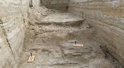 Jégkorszaki lábnyomokat találtak