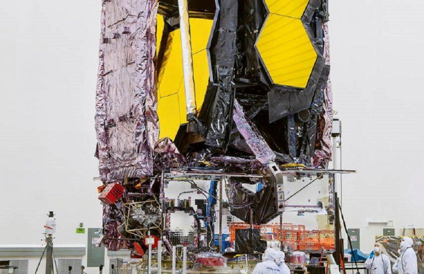 Decemberben indul a James Webb űrtávcső