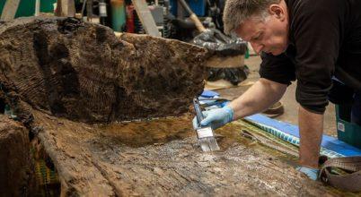 Bronzkori leleteket találtak egy golfpálya tavacskájában