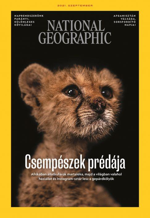 National Geographic Magazin - 2021. szeptember