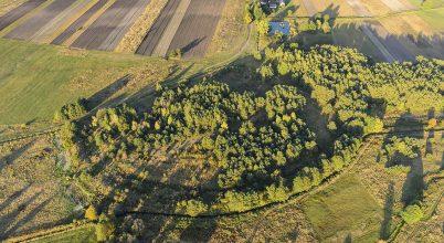 Hatalmas földvárat tártak fel Lengyelországban