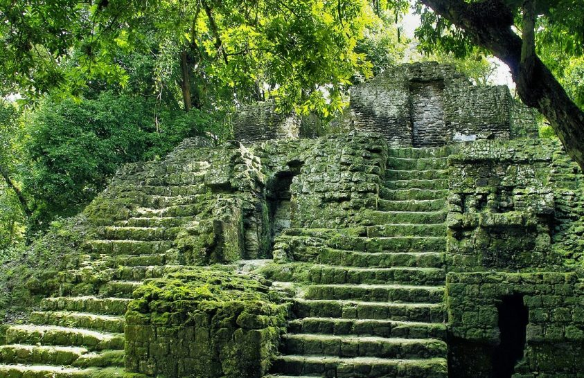 Maja épületeket tártak fel az esőerdőben
