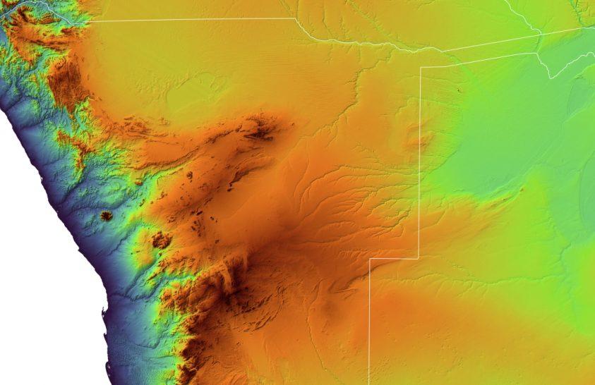 Namíbia fjordjai