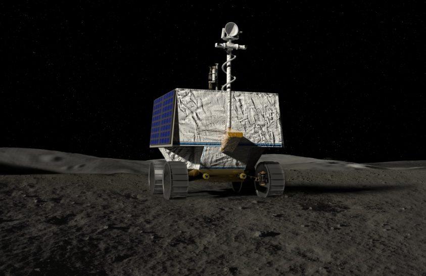 Eldőlt, hol száll majd le a Holdra a NASA robotja