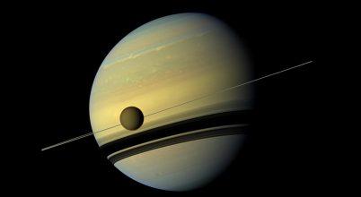 A Szent András-törésvonalhoz hasonlót találtak a Titán felszínén