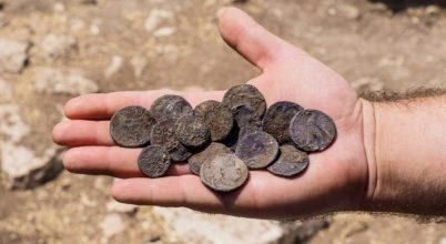 A rómaiak elleni lázadás idején elrejtett kincset találtak