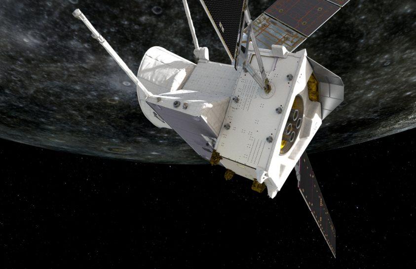 Első pillantásait veti a Merkúrra a BepiColombo