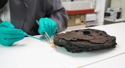 Ez a torta a második világháború idejéből került elő