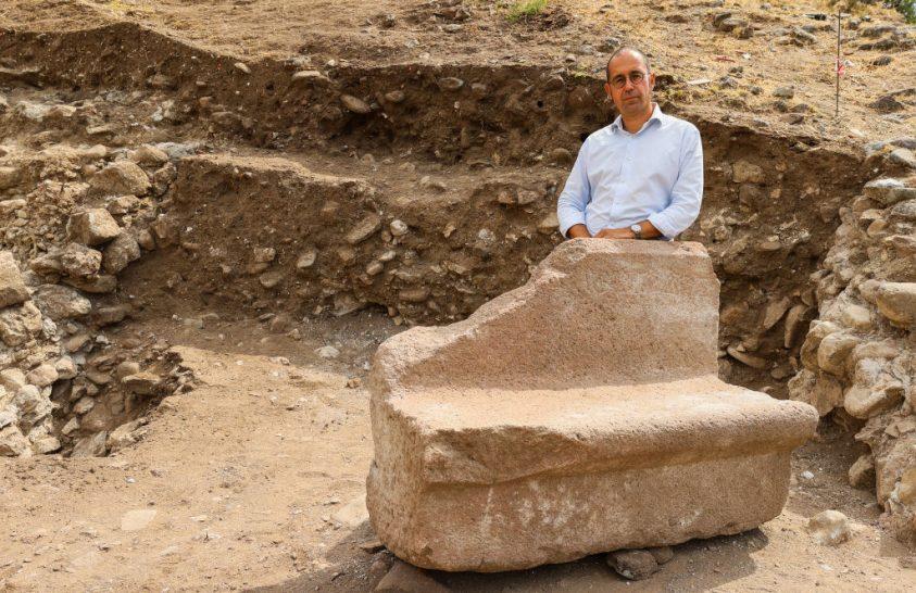 VIP-székeket találtak egy római amfiteátrumban
