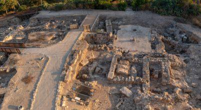 Keresztes katonák táborára bukkantak Izraelben
