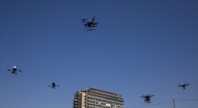 Drónok tesztelése
