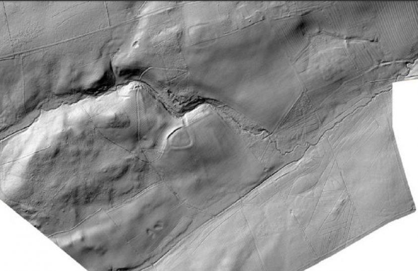 Régészeti lelőhelyeket fedeztek fel a levegőből