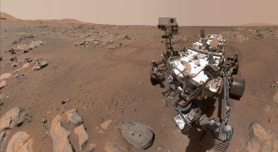 Ezt hallja a Perseverance a Marson