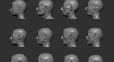 Ősi emberek arca elevenedik meg egy új projektben