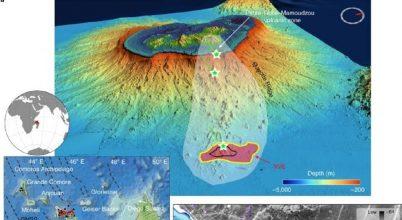 Hatalmas vulkánkitörést dokumentáltak a tenger mélyén