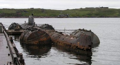 Eltávolítanak két orosz atomtengeralattjáró-roncsot a sarkvidéki vizekből